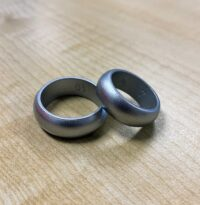 silver silicone ring 2